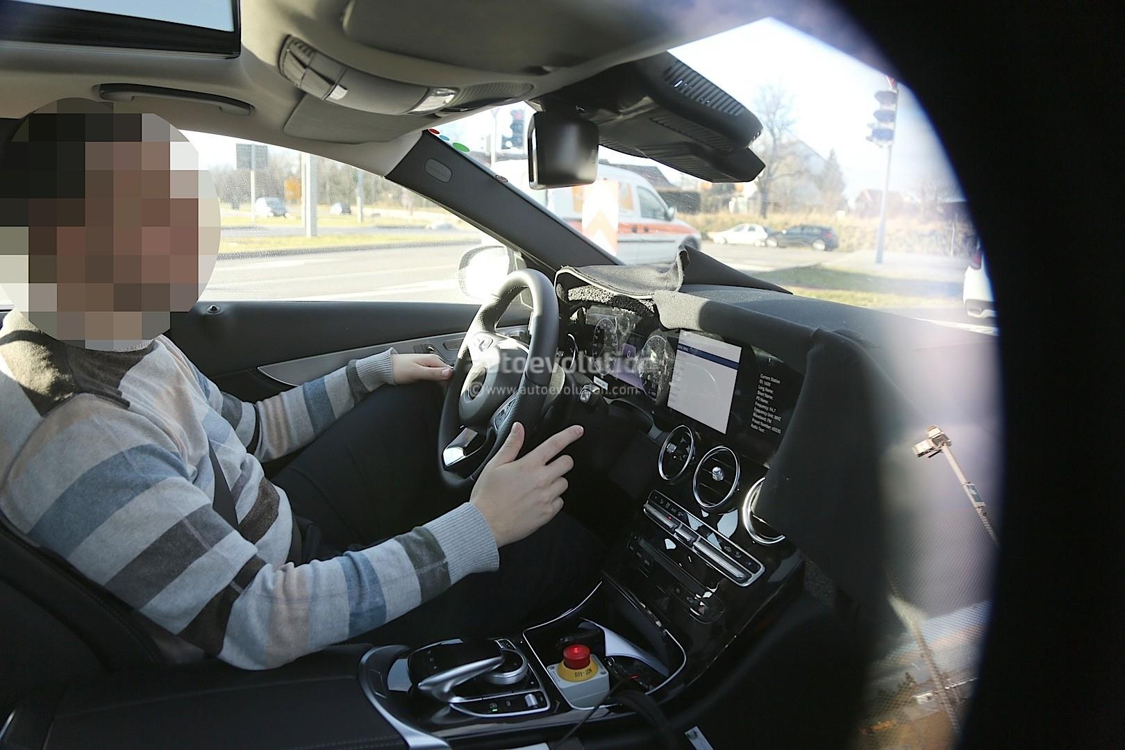 2018 Mercedes C Class Facelift Interior Spyshots S Class