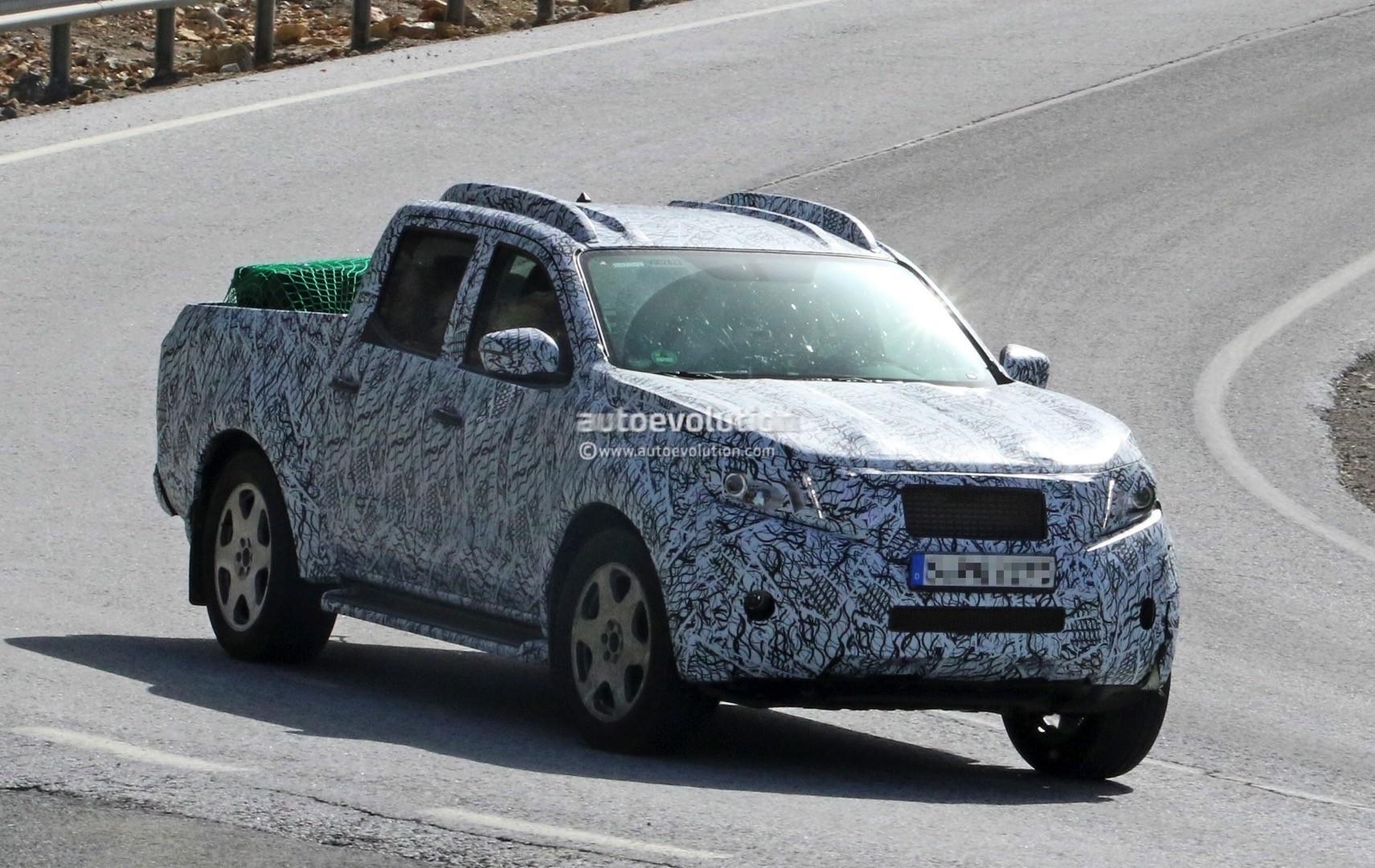 2017 Mercedes Benz Glt Pickup Truck Test Mule