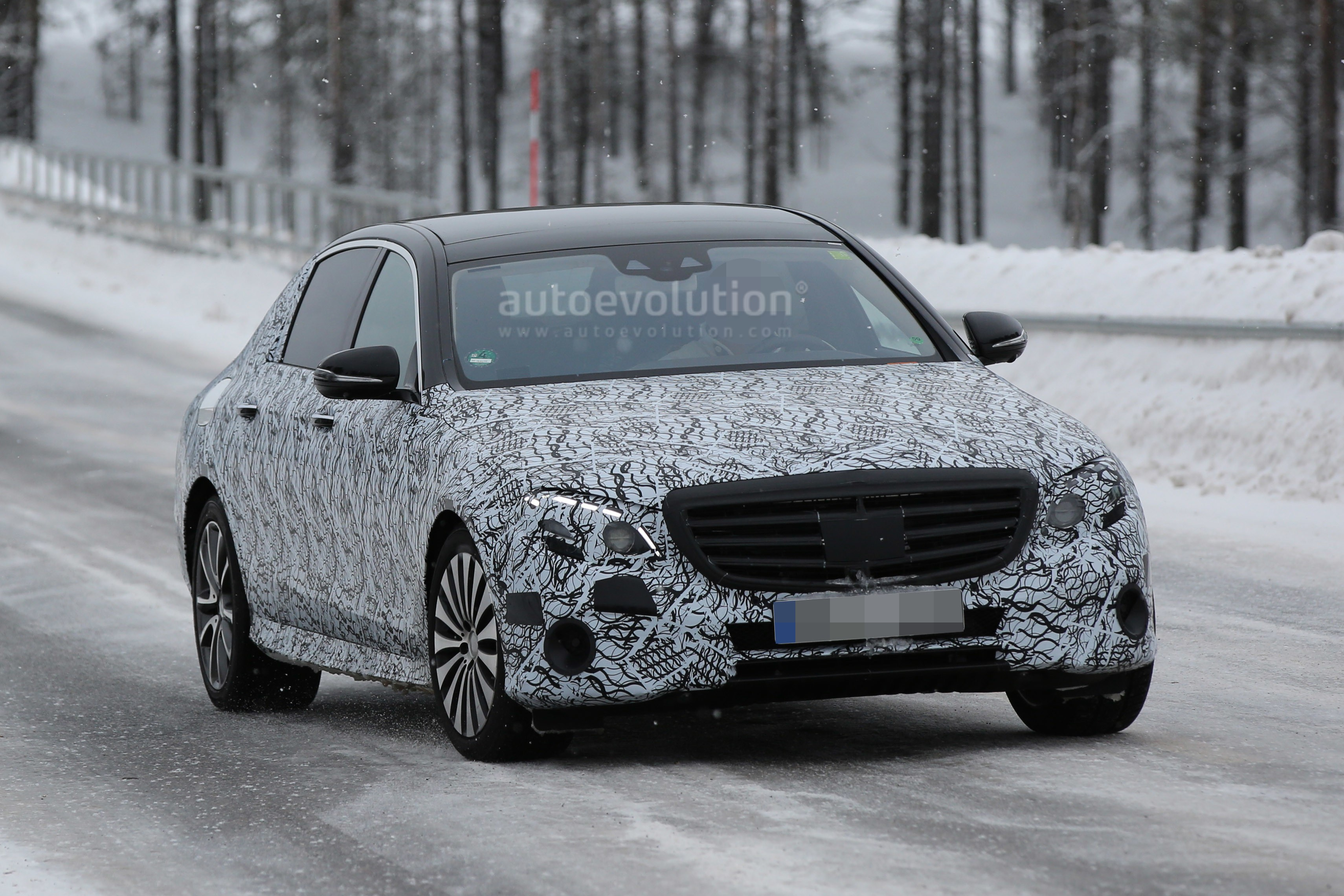 2018 Mercedes-Maybach E-Class Spied - autoevolution
