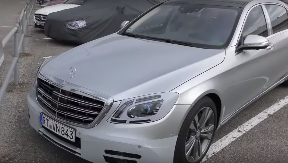 2018 maybach s600. fine s600 2018 mercedesmaybach sclass facelift spied in maybach s600