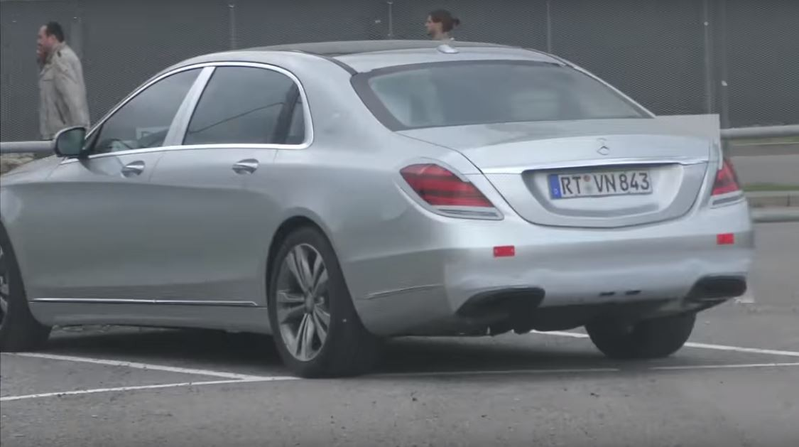 2018 maybach models. simple maybach 2018 mercedesmaybach sclass facelift spied and maybach models y