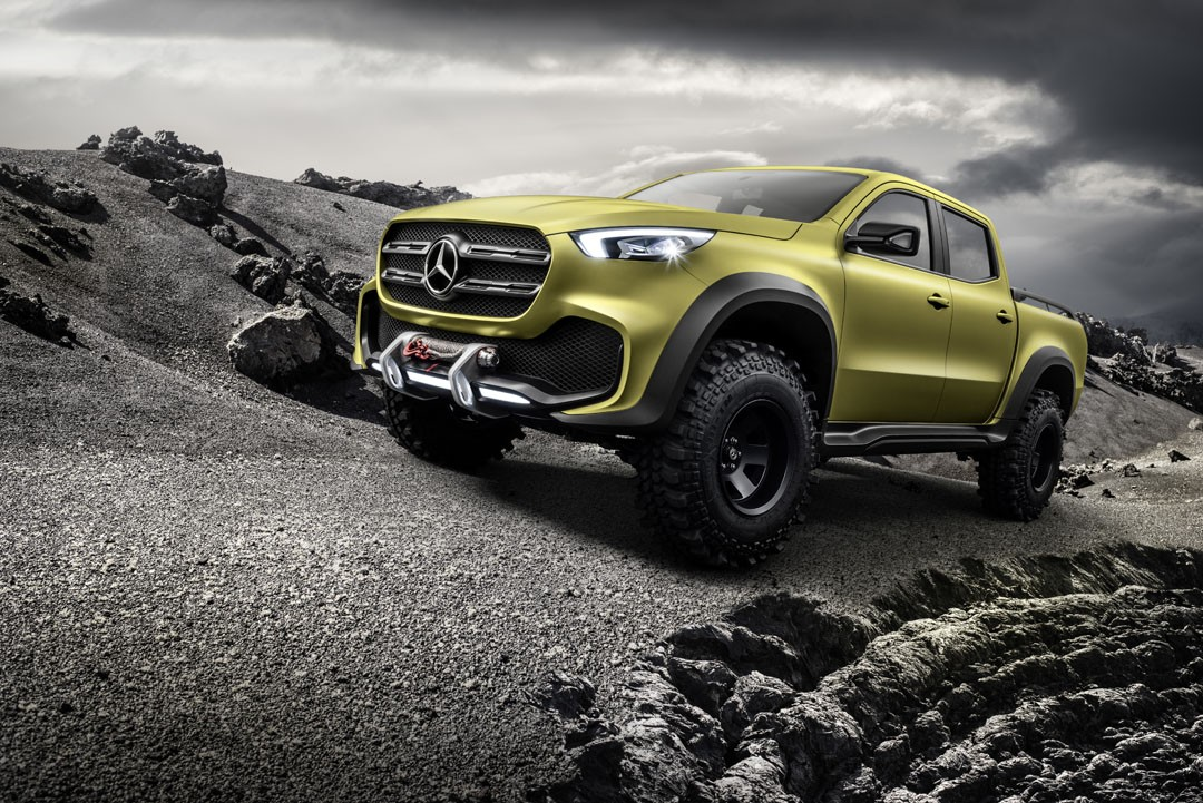 2018 mercedes x class truck prototype shows production for The new mercedes benz truck