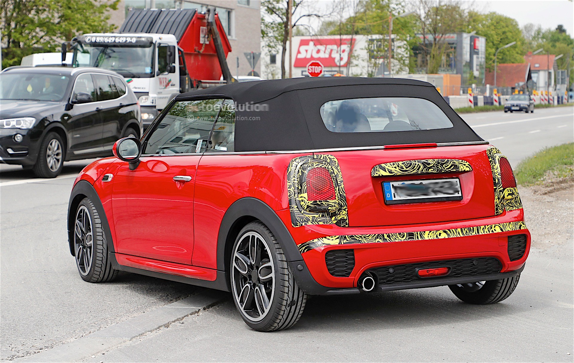 2018 MINI Cabrio And Cooper S Facelift Spied in Germany ...