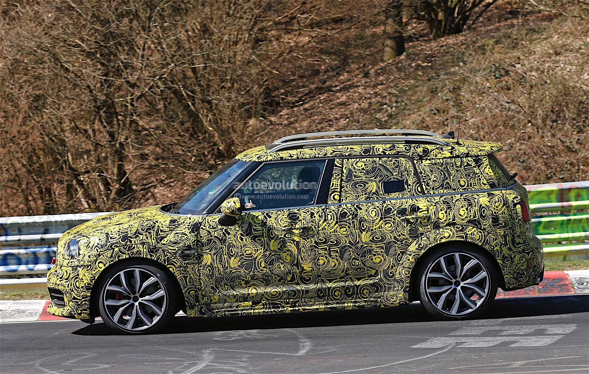 2018 Mini Countryman Jcw Rendered 231 Hp Hot Crossover