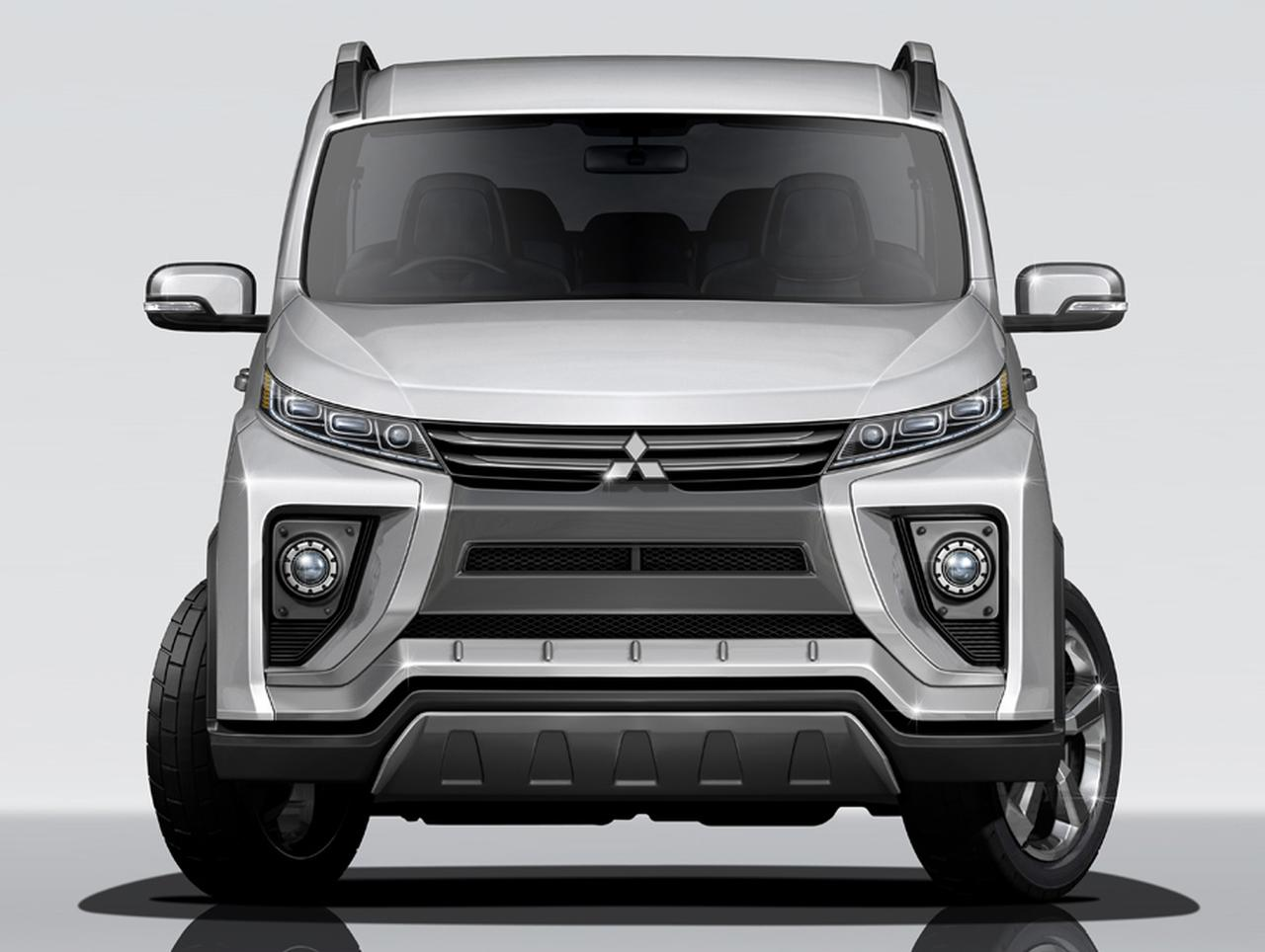 2018 Mitsubishi Delica Previewed By Concept Heading To Tokyo Motor
