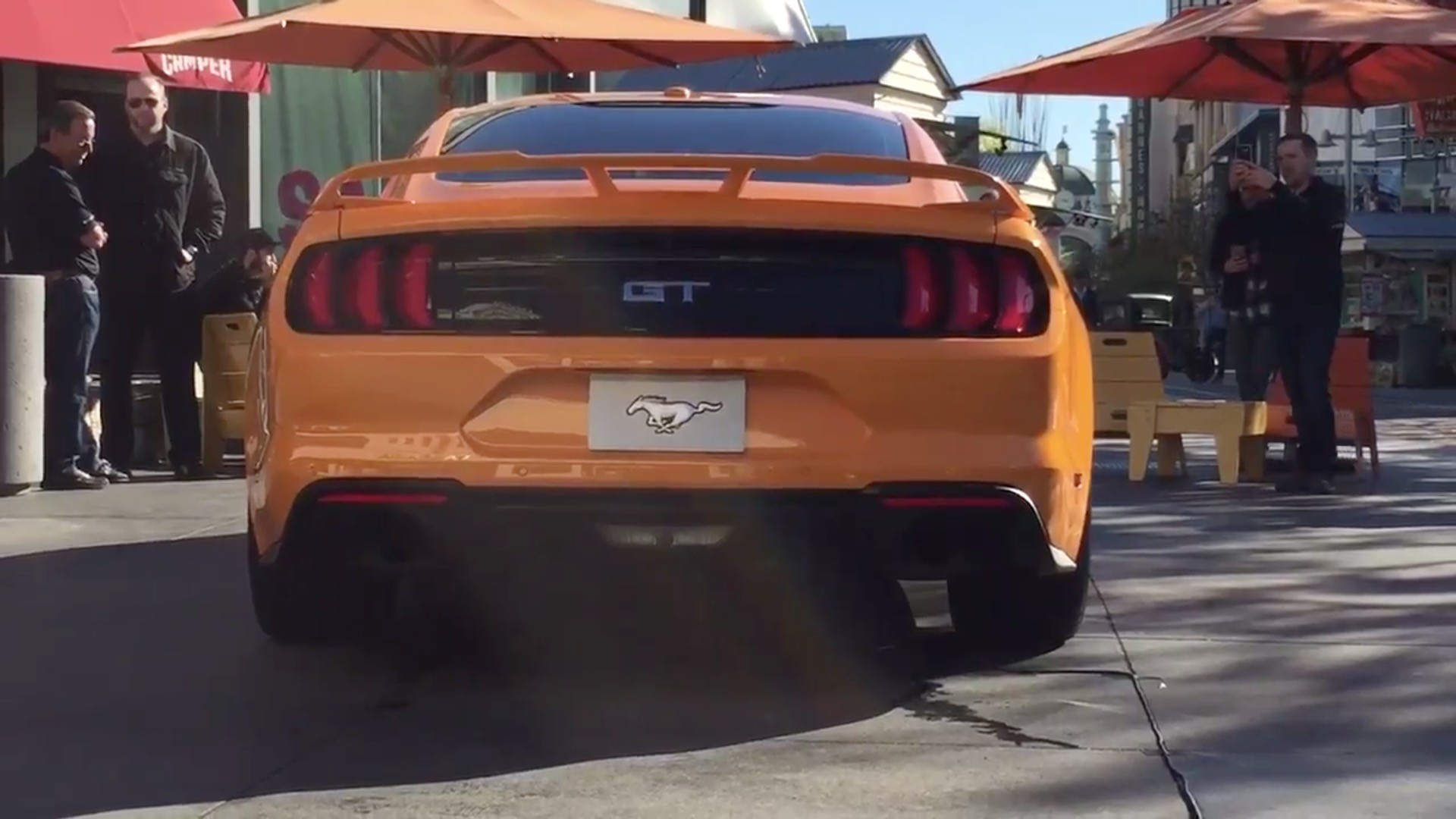 2018 ford mustang gt active valve exhaust system sound check