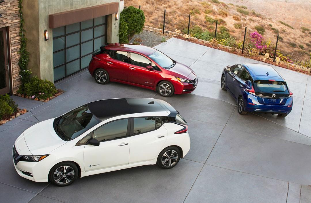 New 2018 Nissan LEAF EV starts rolling out of Nissan's United Kingdom plant