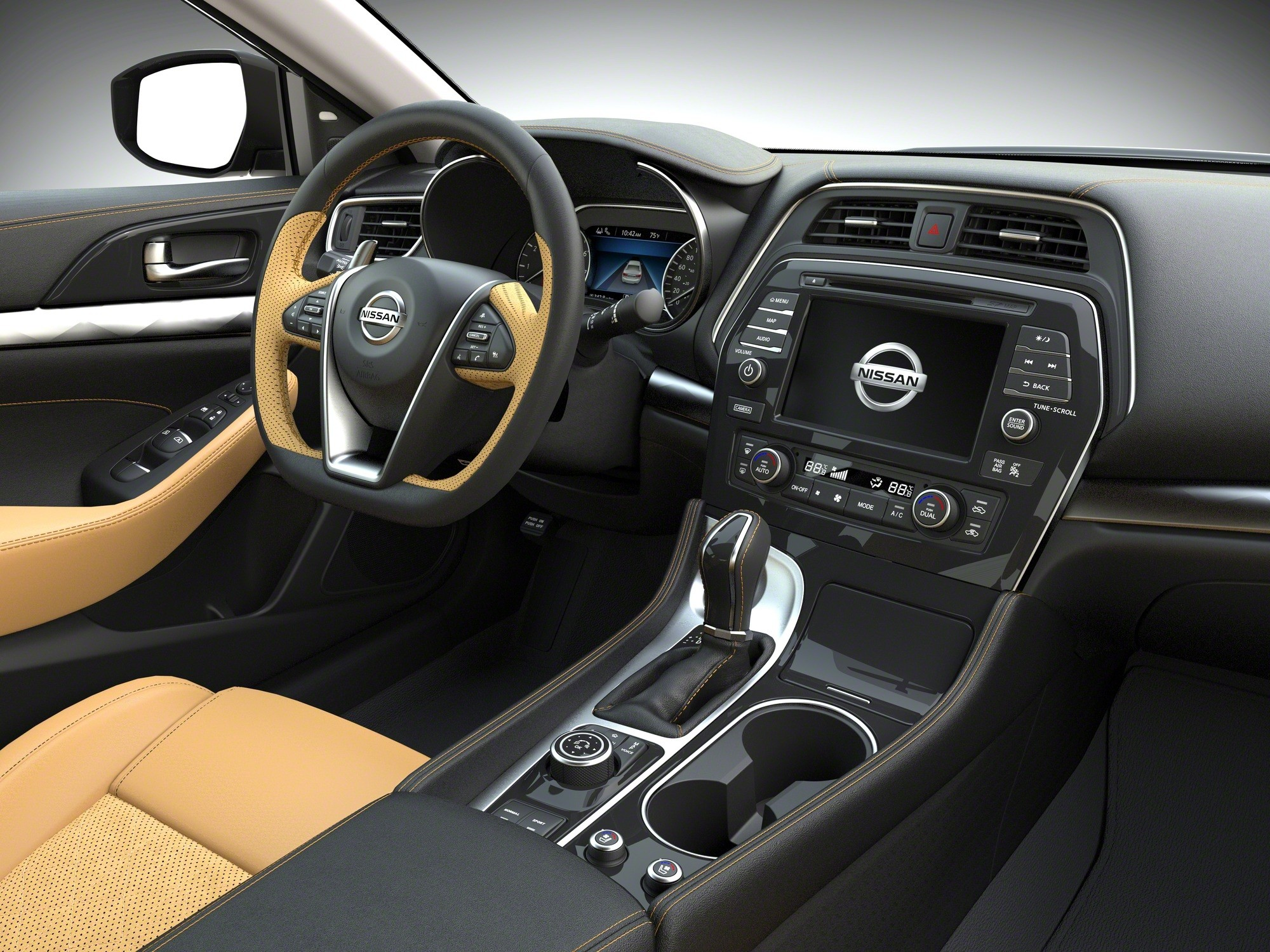 2018 Nissan Maxima Boasts Small Updates Including Android