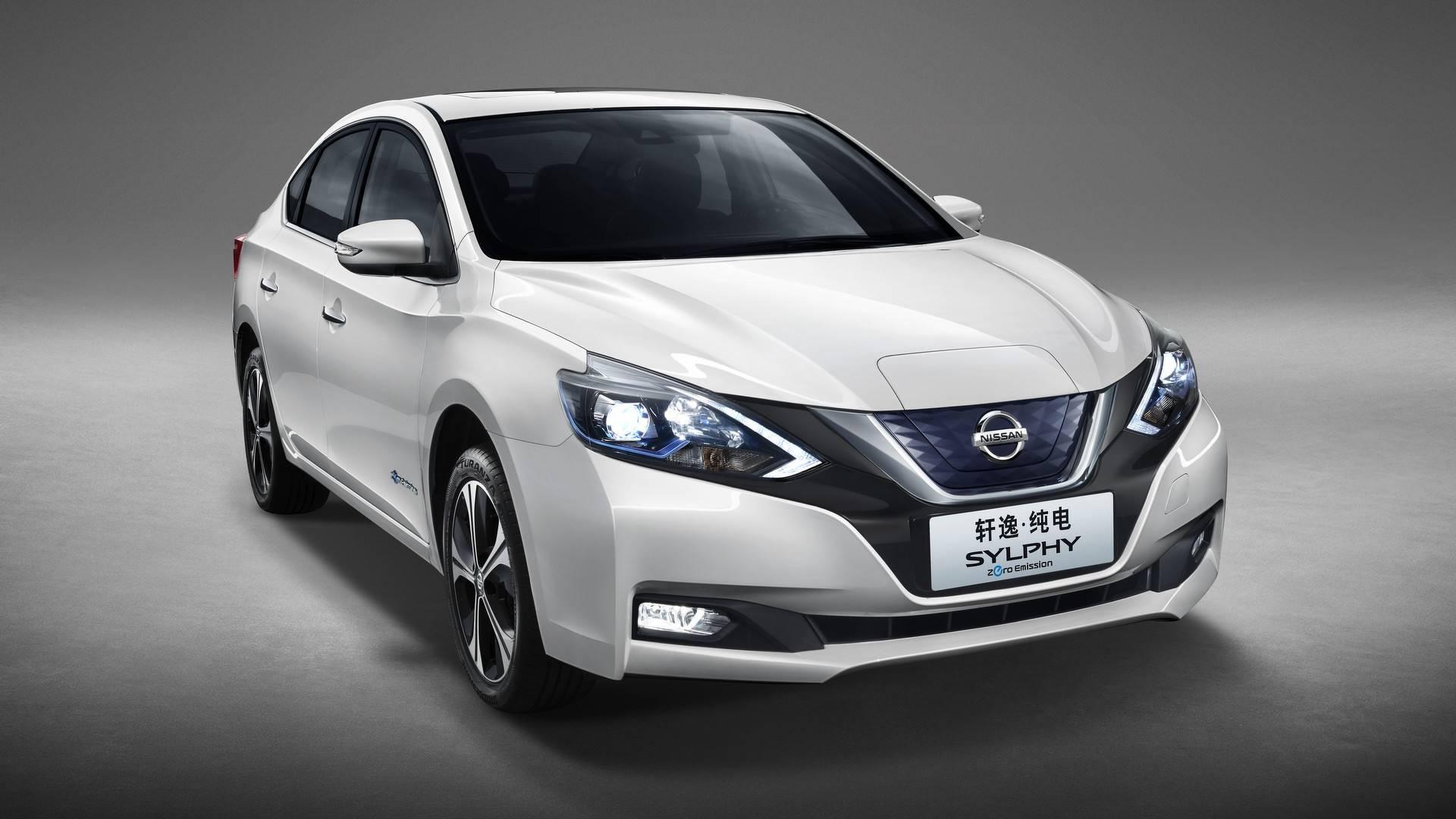 2018 Nissan Sylphy Zero Emission is Half Sentra, Half Leaf ...