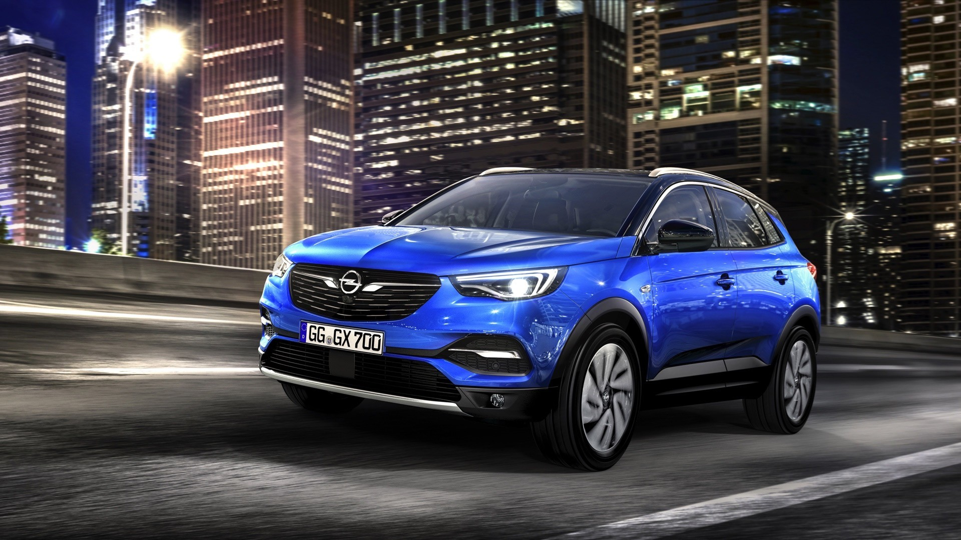 2018 opel grandland x is perfectly predictable autoevolution. Black Bedroom Furniture Sets. Home Design Ideas