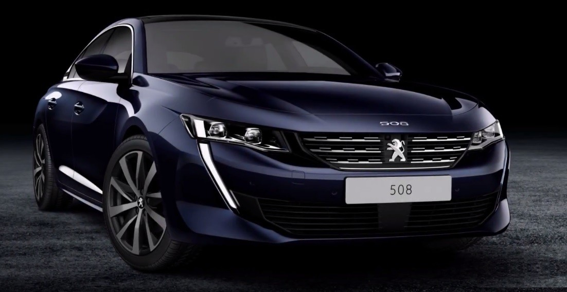2018 peugeot 508 leaked frameless side windows revealed autoevolution. Black Bedroom Furniture Sets. Home Design Ideas