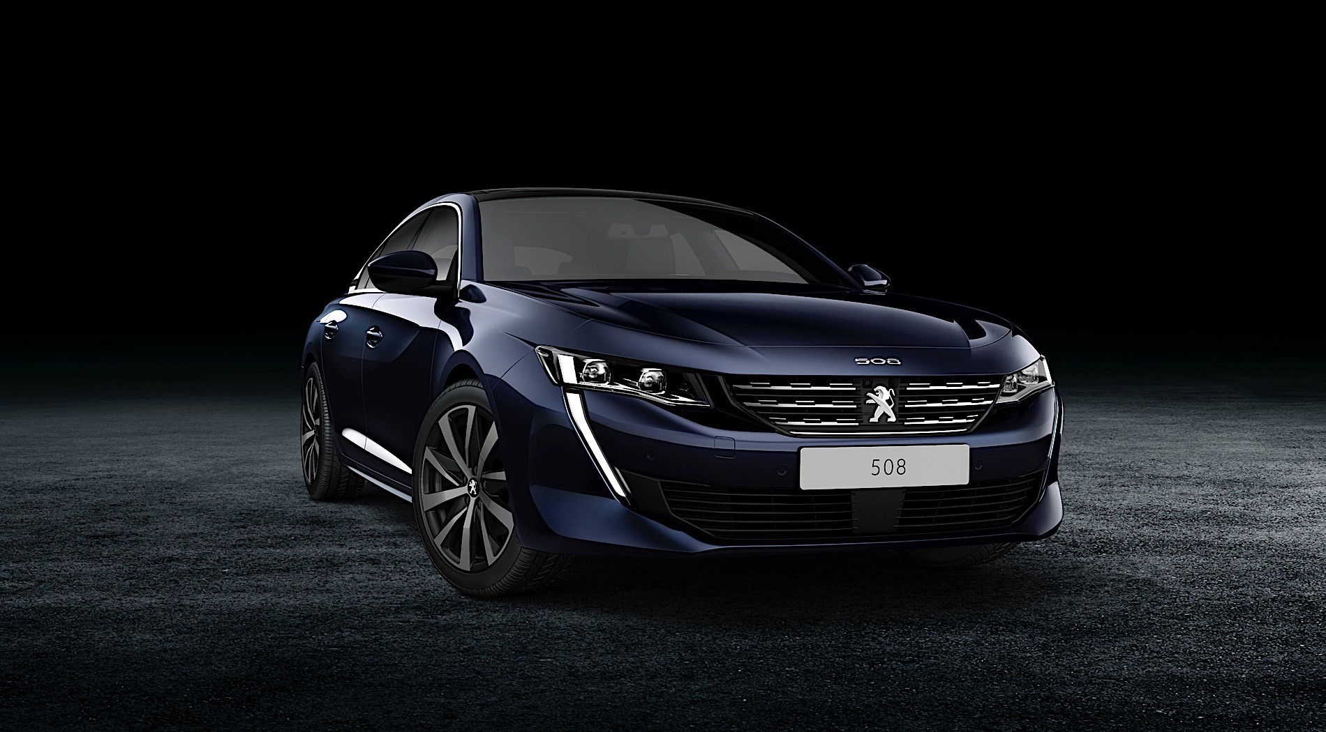 2018 peugeot 508 sw teased  online debut imminent