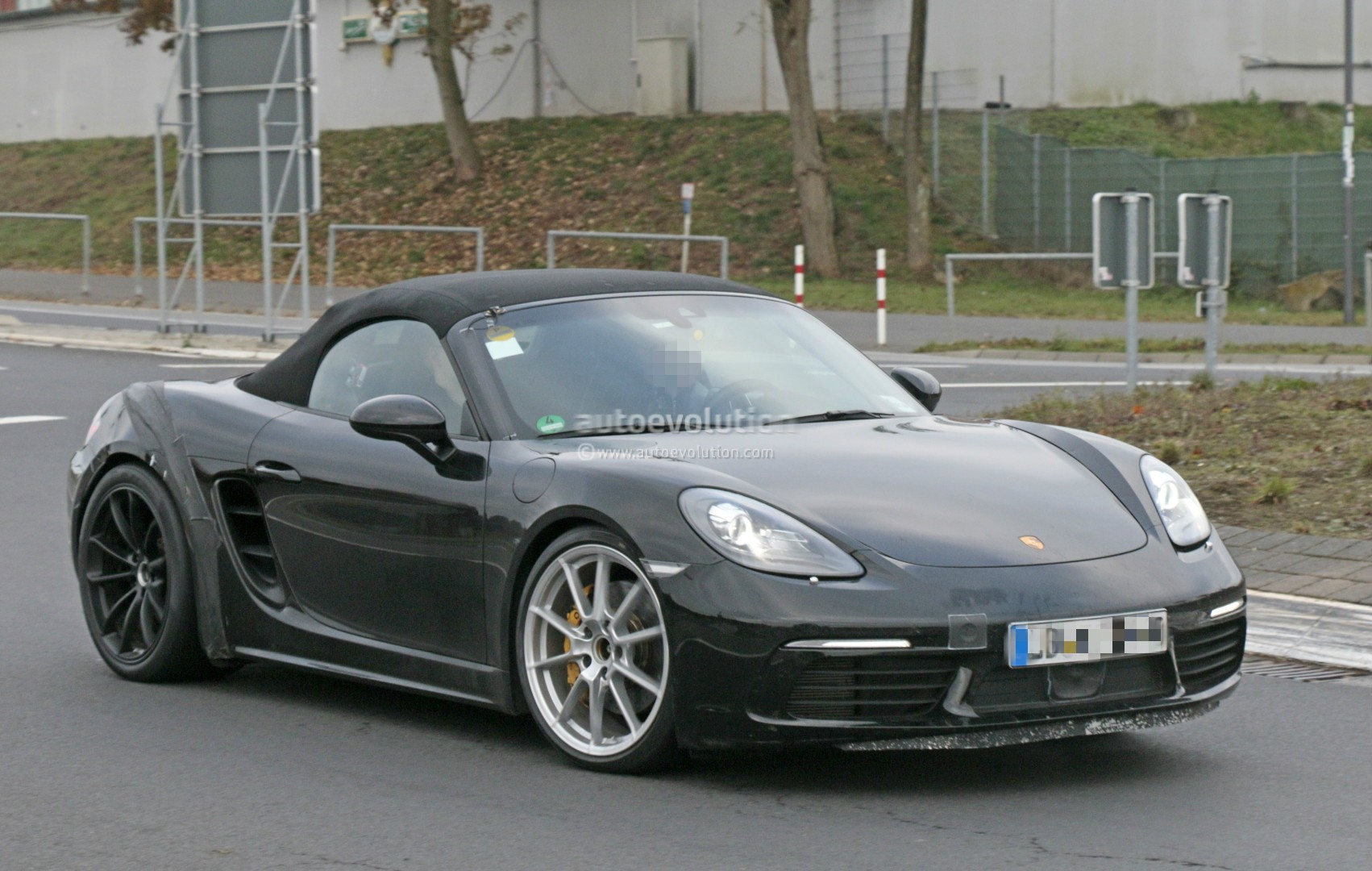 porsche 718 boxster gts spy shots porsche 718 forum. Black Bedroom Furniture Sets. Home Design Ideas