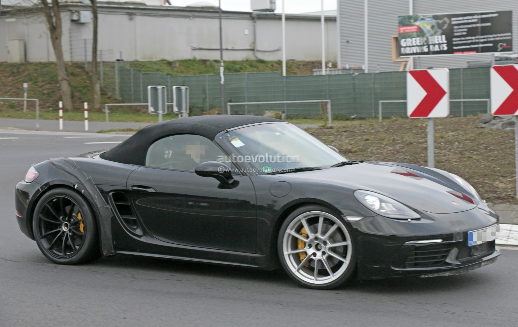 2018 porsche speedster. interesting speedster 2018 porsche 718 boxster gts spied for porsche speedster