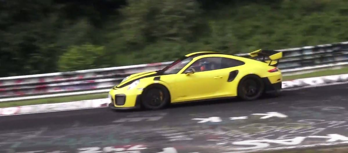 2018 porsche 911 gt2 rs attacks nurburgring lap record. Black Bedroom Furniture Sets. Home Design Ideas