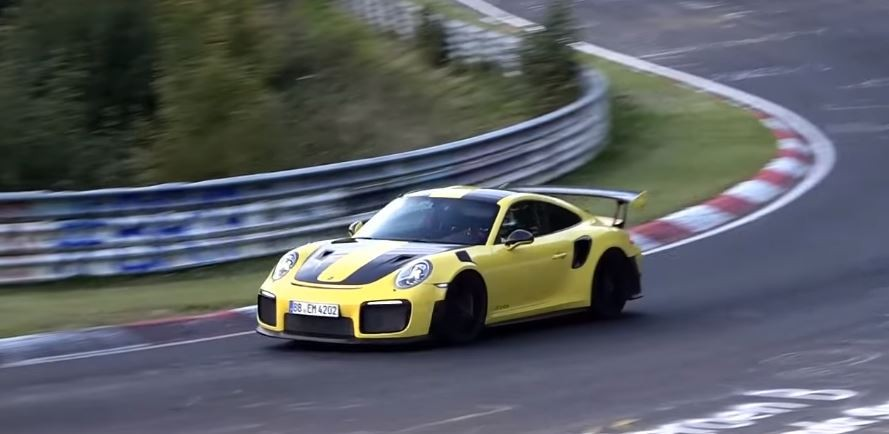 2018 porsche 911 gt2 rs reportedly sets 6 nurburgring lap record autoevolution. Black Bedroom Furniture Sets. Home Design Ideas