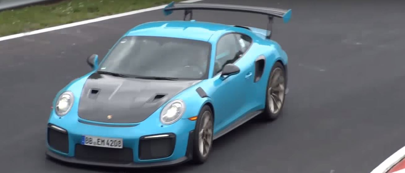 2018 porsche 911 gt2 rs test cars lapping nurburgring. Black Bedroom Furniture Sets. Home Design Ideas