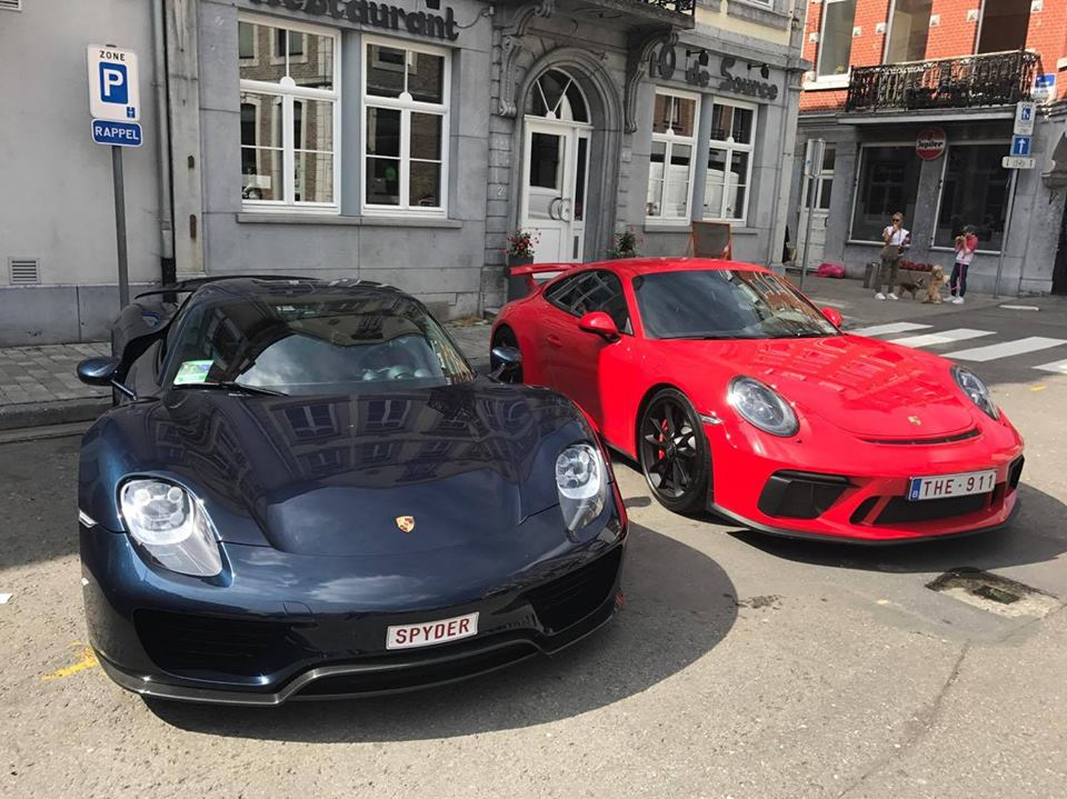 2018 porsche gt3 chalk. delighful 2018 2018 porsche 911 gt3 and 918 spyder  inside porsche gt3 chalk