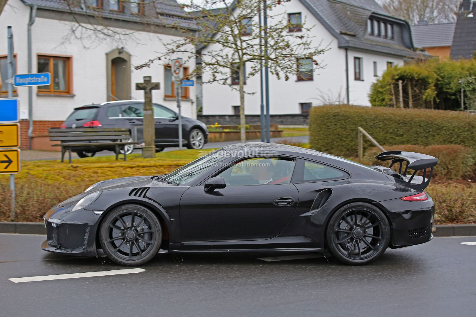 2018 Porsche 911 Gt3 Rs Spied Has 4 2l Engine 911 R Like