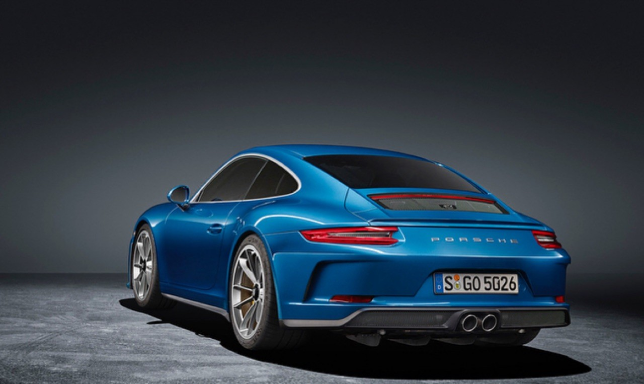 New Porsche 911 GT3 Touring Tosses out the Rear Wing