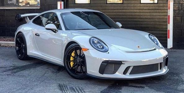 2018 Porsche 911 Gt3 Touring Package Prototype Shows 911 R