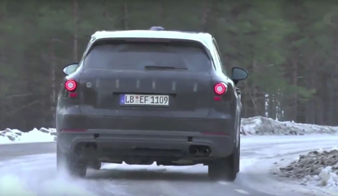 porsche cayenne turbo 2018. beautiful 2018 2018 porsche cayenne spied inside porsche cayenne turbo