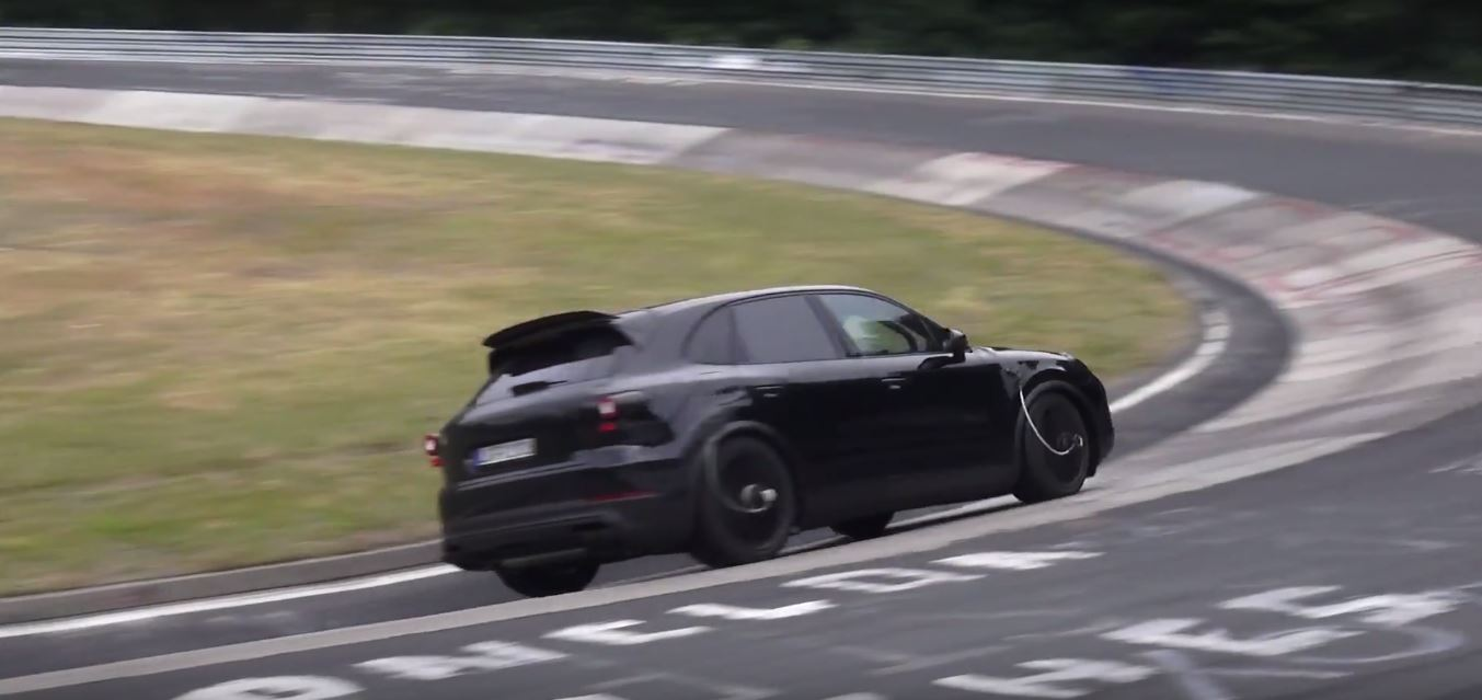 2018 porsche cayenne turbo.  cayenne 2018 porsche cayenne spied on nurburgring  in porsche cayenne turbo