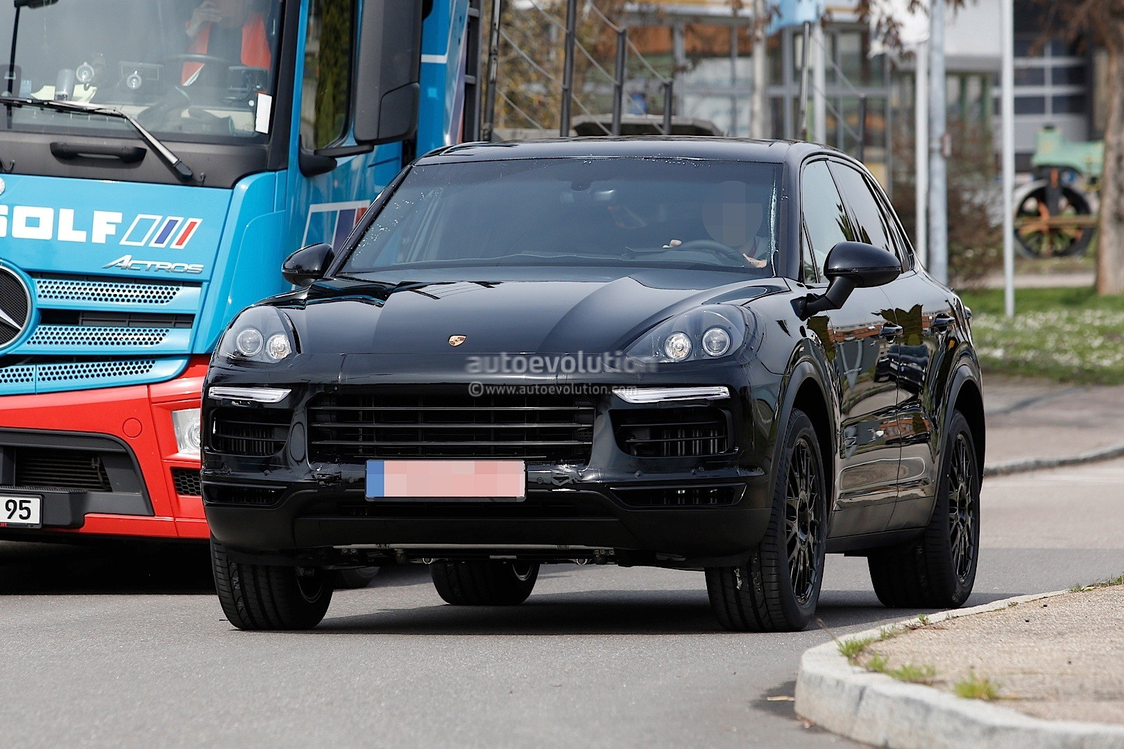 2018 Porsche Cayenne Test Mule Spied In Germany