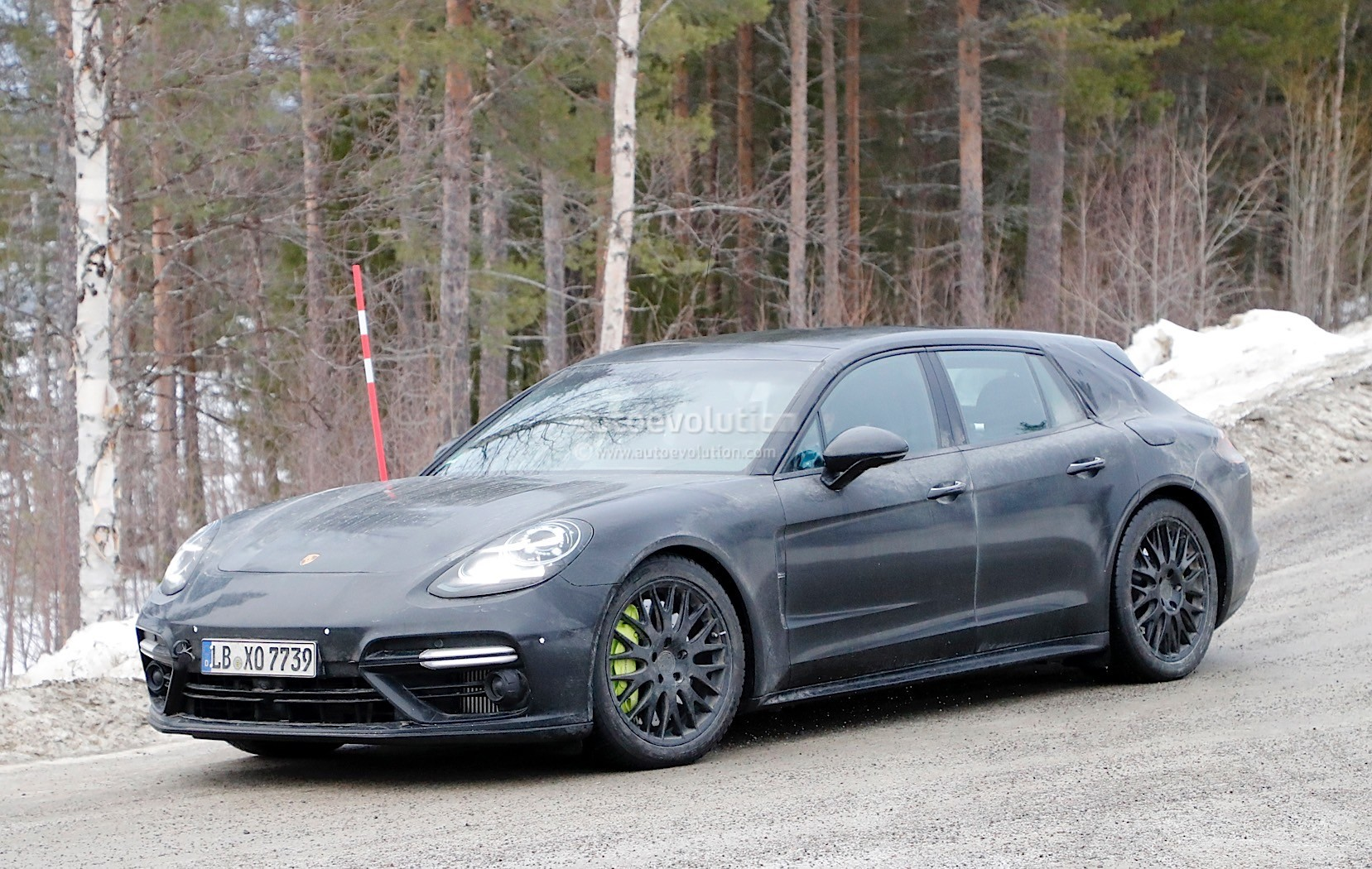 2018 Porsche Panamera Sport Turismo Prototype Testing
