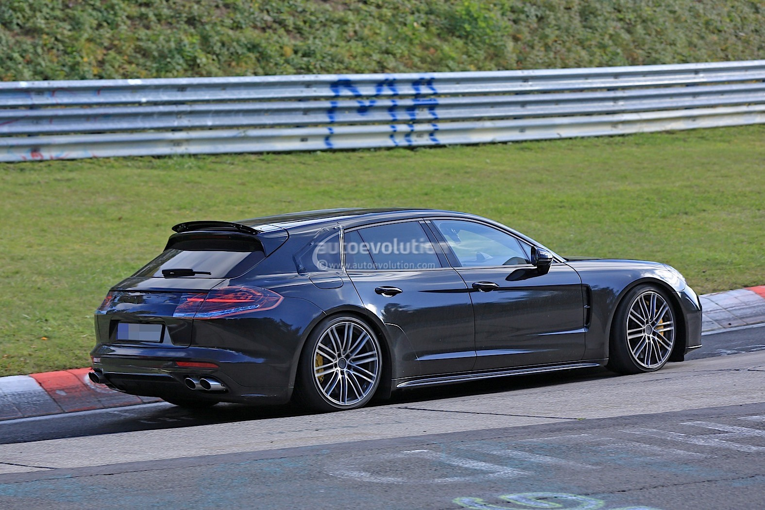 2018 Porsche Panamera Sport Turismo Wagon Spotted With Retractable Spoiler 112539 on robotic horses