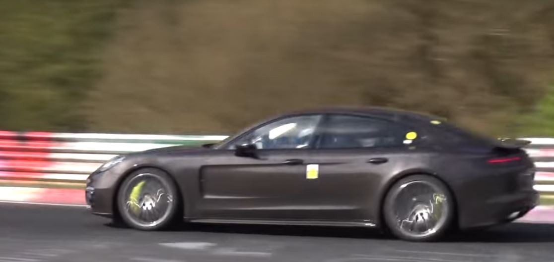 Porsche Panamera Turbo S E Hybrid Flies On Nurburgring Sedan