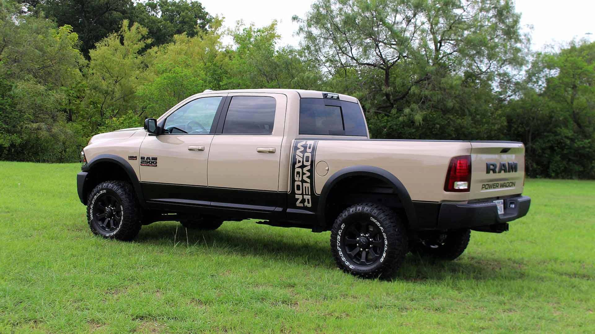 2018 Ram Power Wagon Now Available as Mojave Sand Limited ...