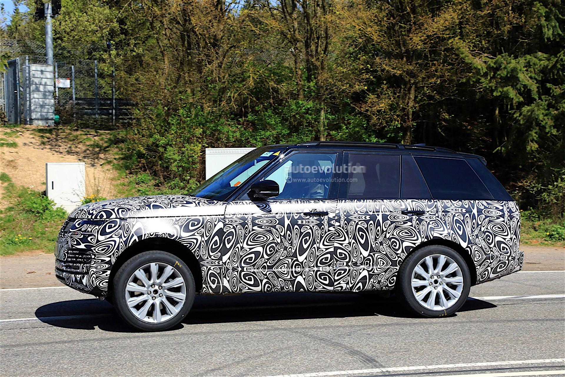 Range Rover Sport Svr 2018 >> 2018 Range Rover Facelift Spied With Updated Interior - autoevolution