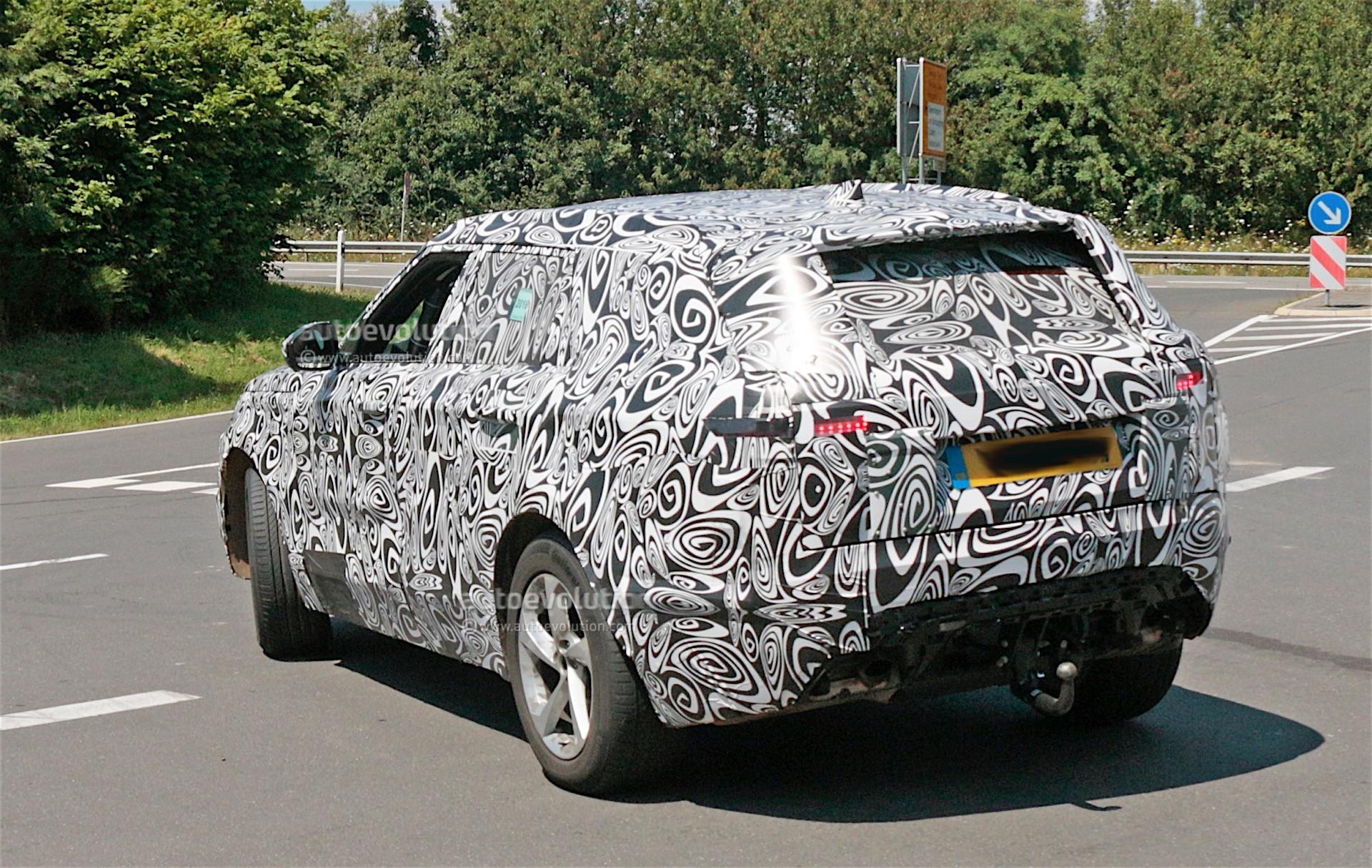 2018 Range Rover Sport Coupe Prototype