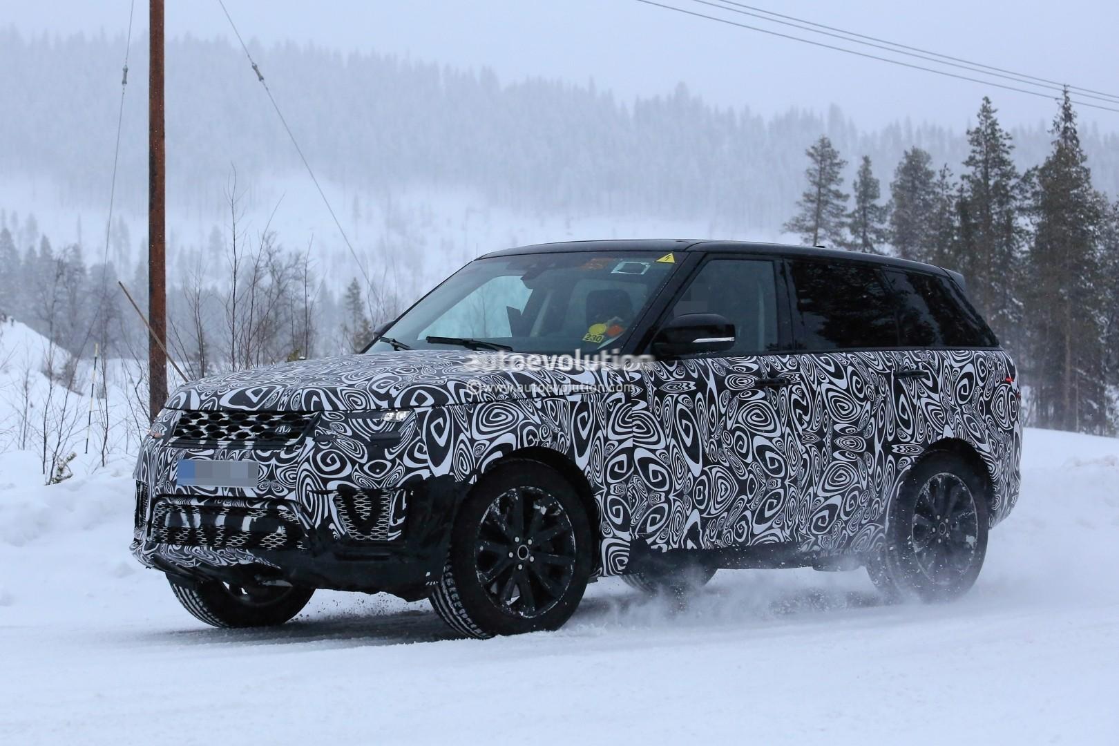 2018 Range Rover Sport Facelift Plug In Hybrid Spied