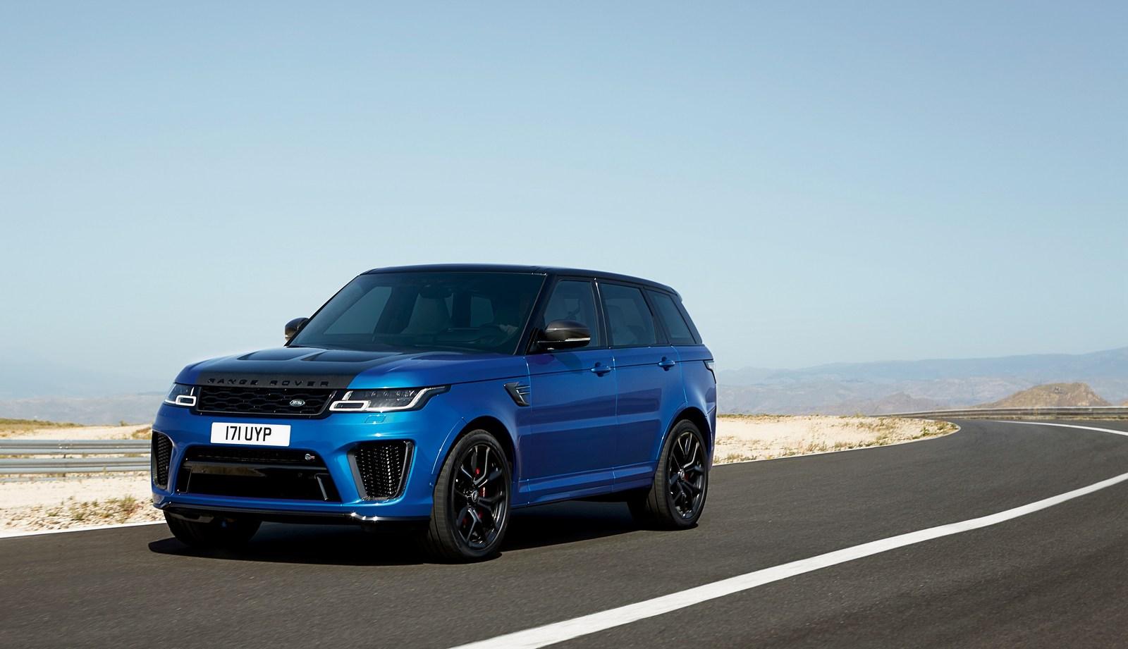 2018 range rover sport svr facelift has carbon hood autoevolution. Black Bedroom Furniture Sets. Home Design Ideas