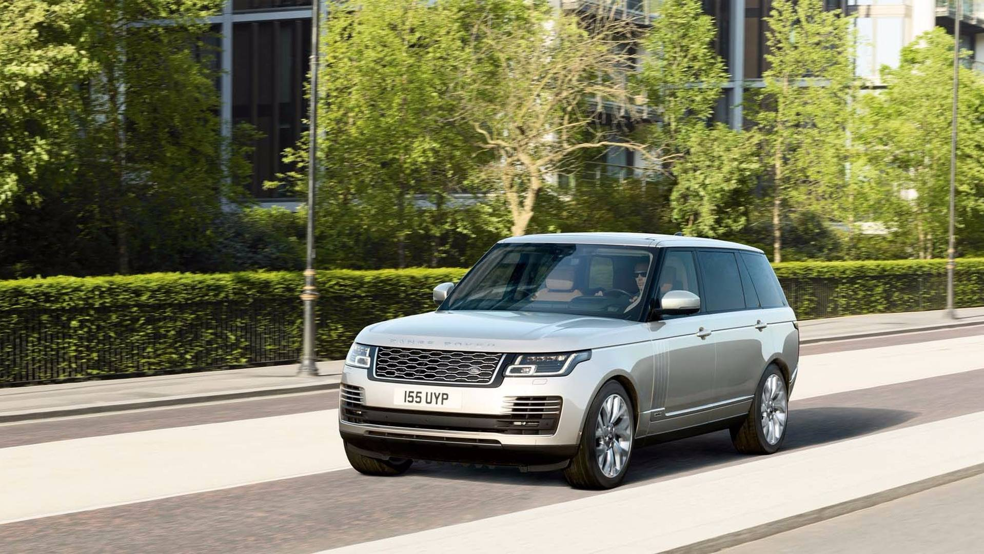 2018 Range Rover Facelift Officially Revealed P400e Phev