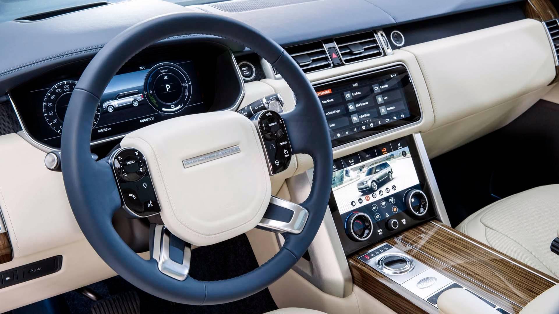 2018 Range Rover Facelift Officially Revealed, P400e PHEV ...