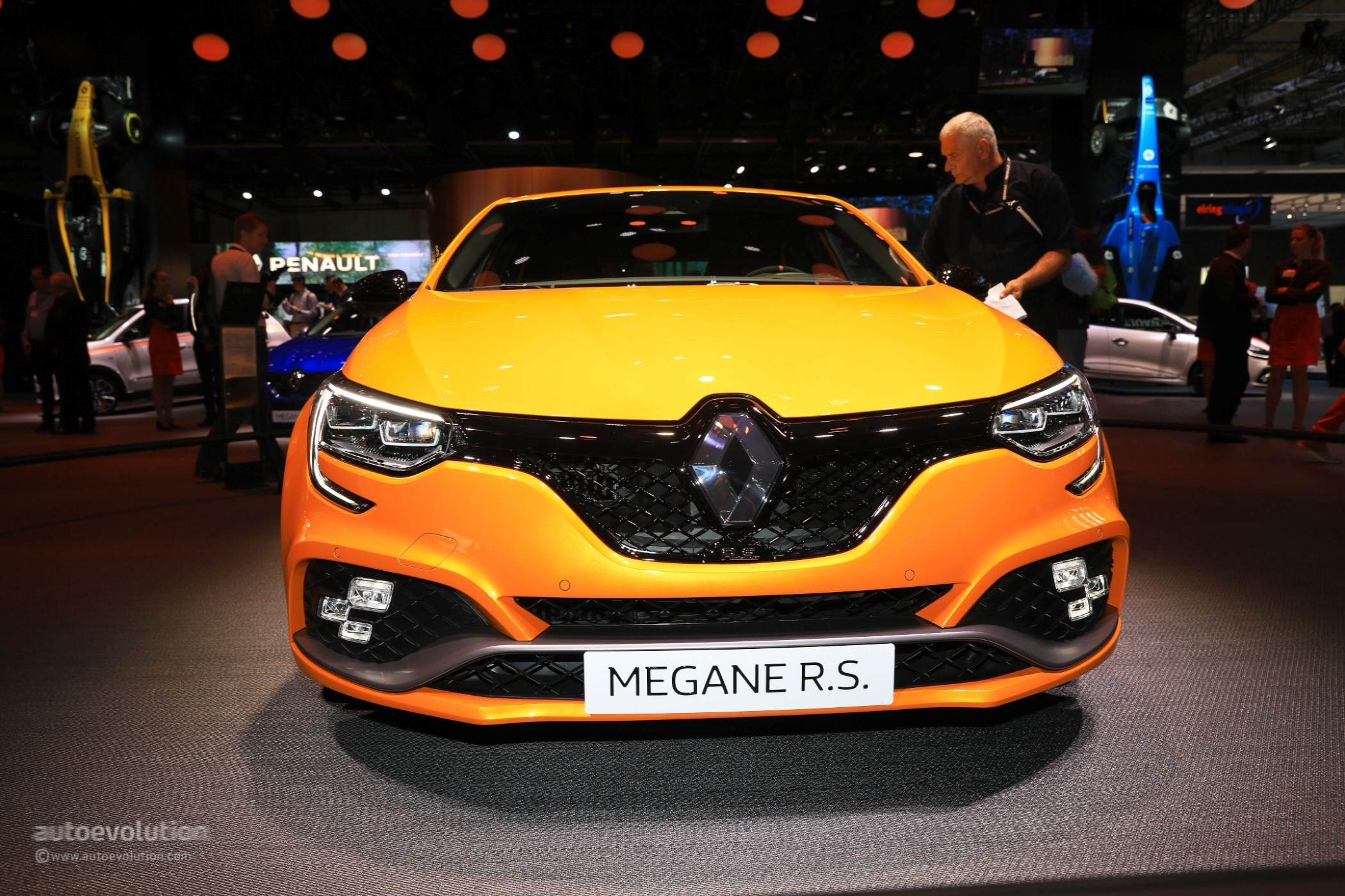 2018 Renault Megane RS Is The Best Hot Hatchback At IAA ...