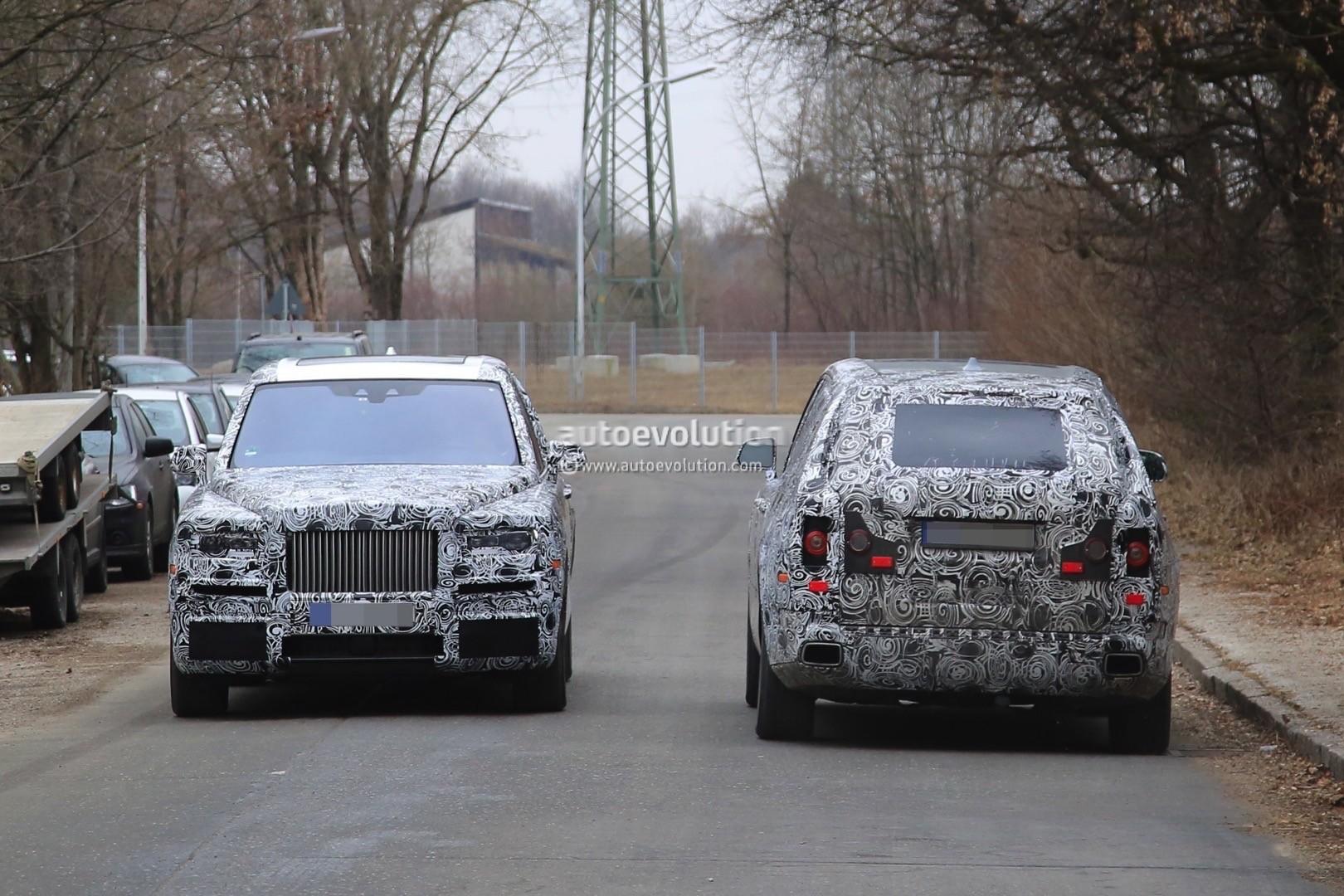 2018 Rolls Royce Cullinan Spied Once Again Looks Massive