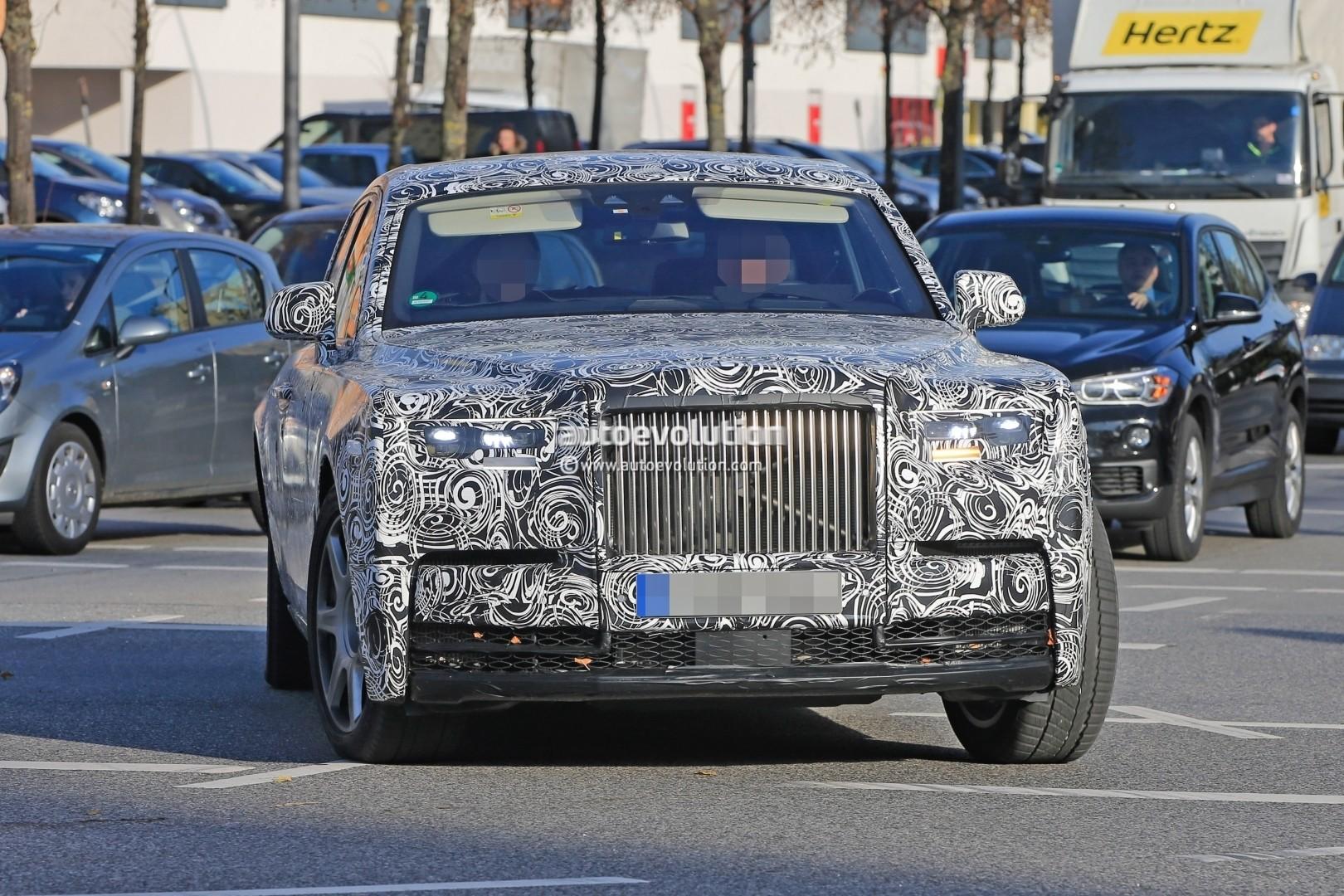2018 Rolls-Royce Phantom Spotted in German Traffic, Doesn't Hide Its Opulence - autoevolution