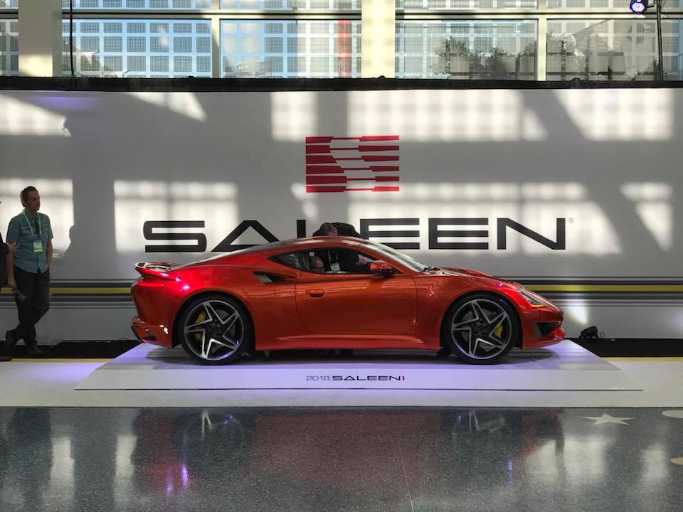 2018 Saleen S1 Packs In House Developed Inline 4 Turbo