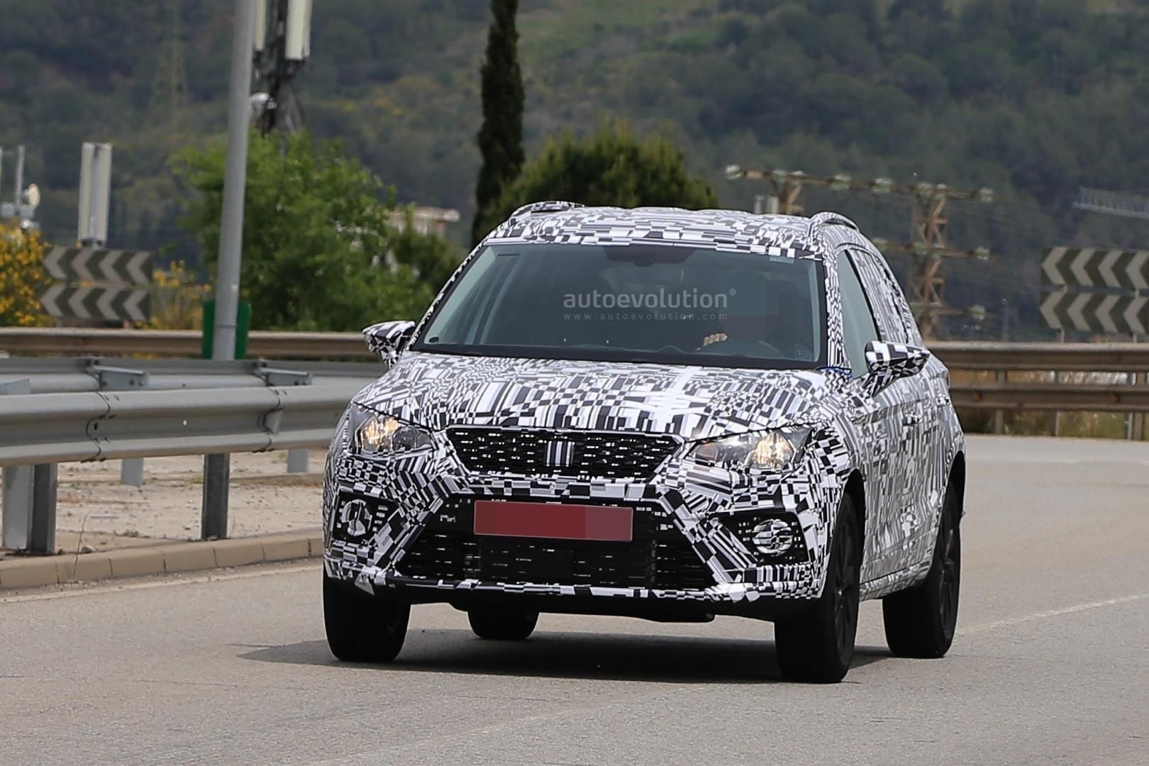 2018 SEAT Arona Spied Testing On Spanish Roads - autoevolution