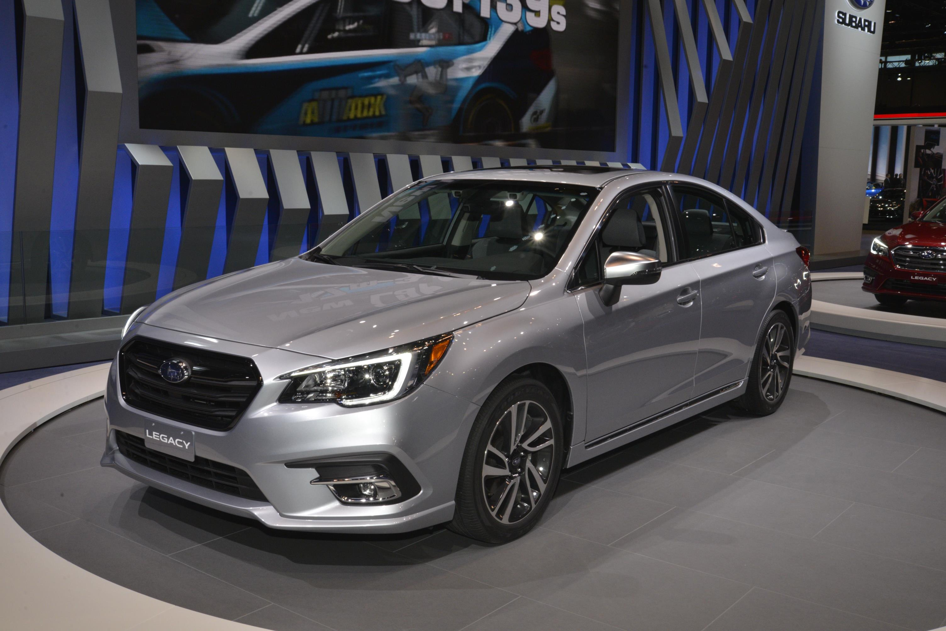 2018 Subaru Legacy Has A Hint Of Impreza In Chicago