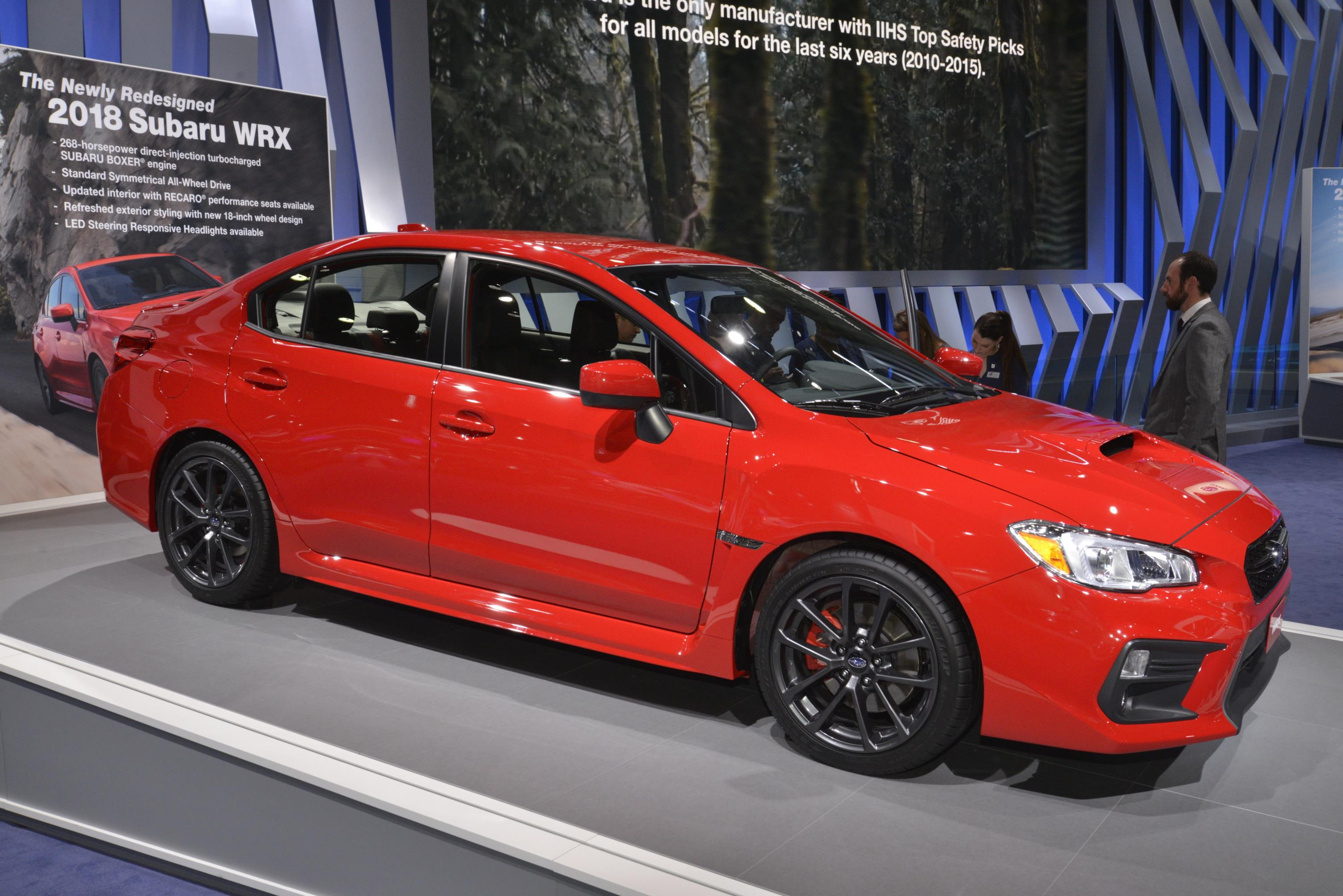 2018 subaru price. simple subaru 2018 subaru wrx and sti live from detroit throughout subaru price