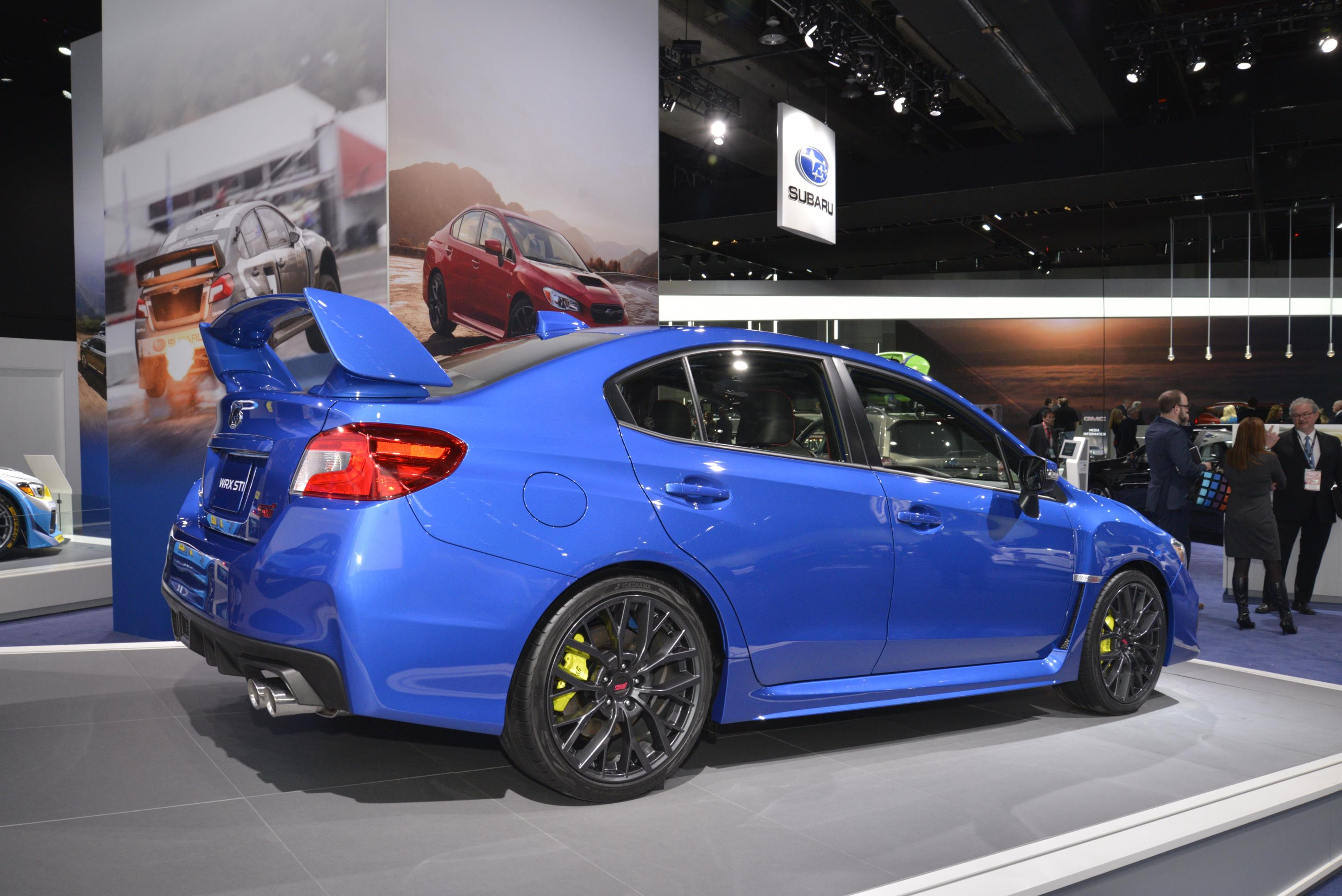 2018 subaru rally car.  rally 2018 subaru wrx and sti live from detroit  for subaru rally car