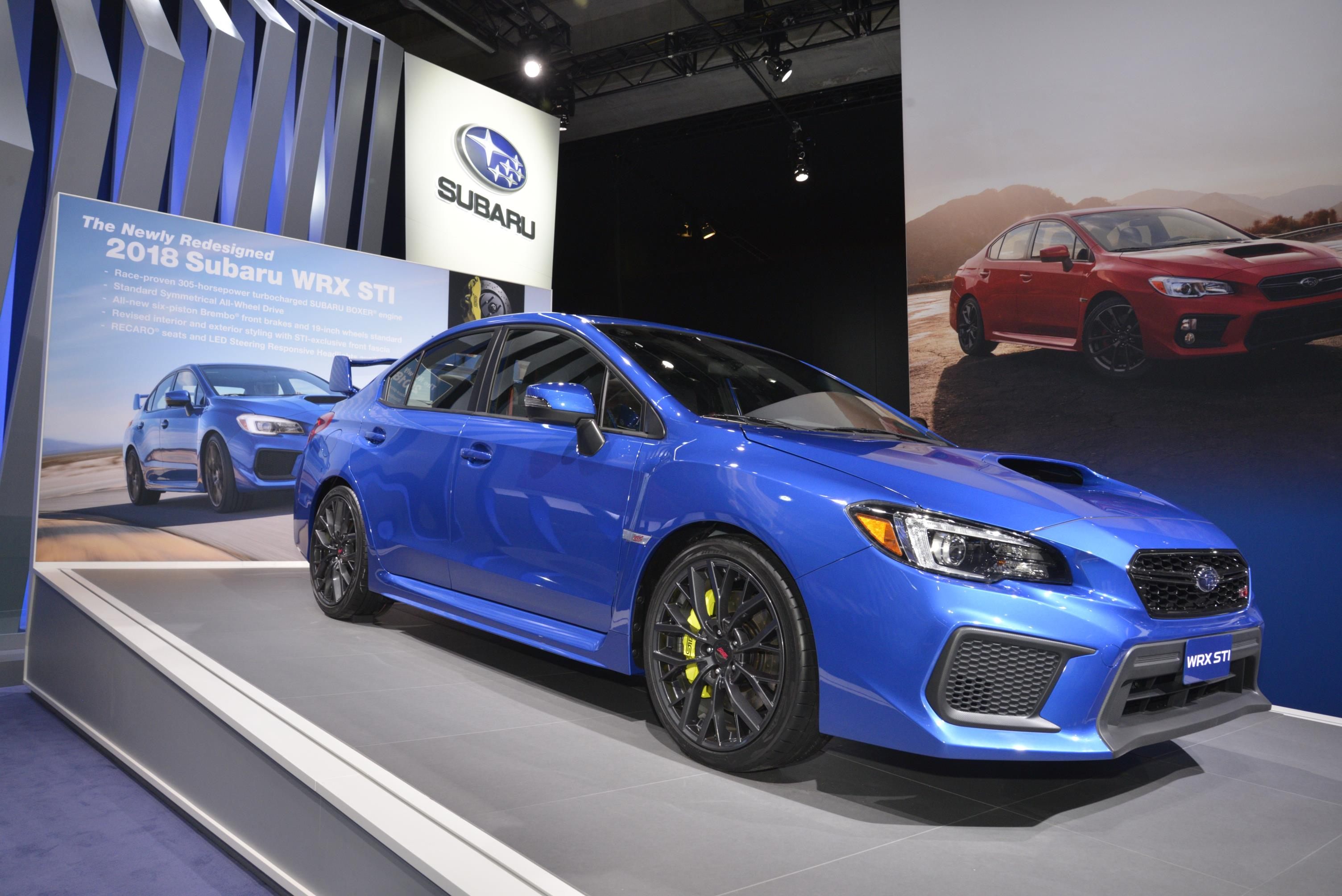 2018 subaru wrx premium. wonderful wrx 2018 subaru wrx and sti live from detroit intended subaru wrx premium n