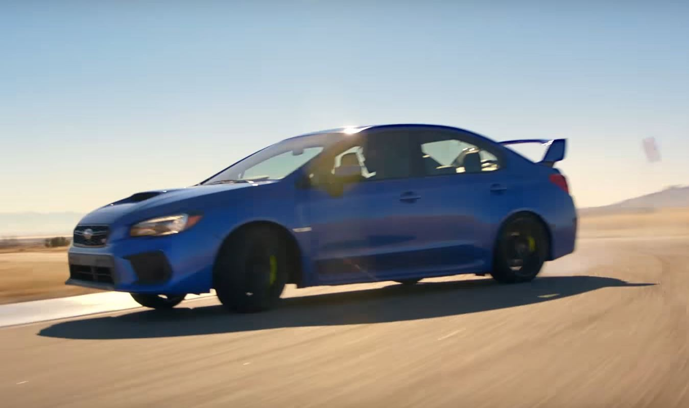 2018 subaru wrx and wrx sti track footage is adrenaline filled