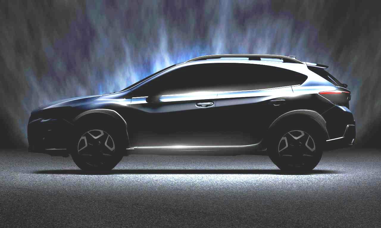 2018 Subaru Xv Crosstrek Teased Confirmed To Debut At 2017 Geneva