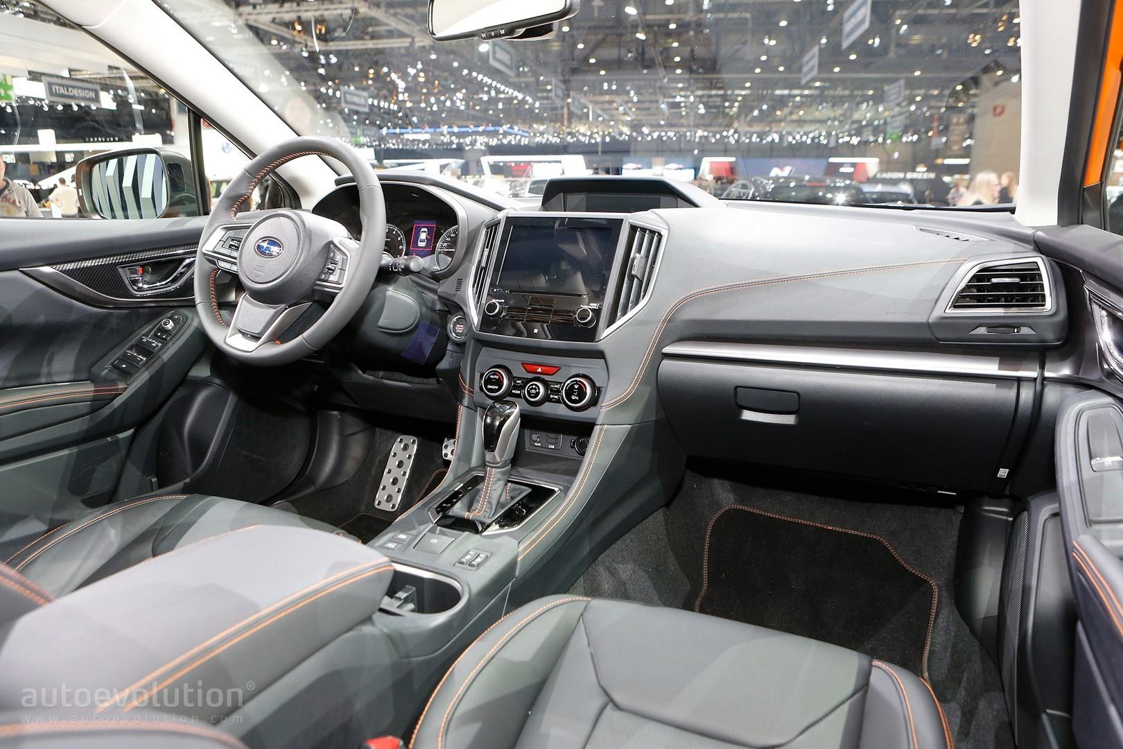 2018 subaru crosstrek interior. perfect subaru 2018 subaru xv debuts in geneva as imprezau0027s rugged brother intended subaru crosstrek interior